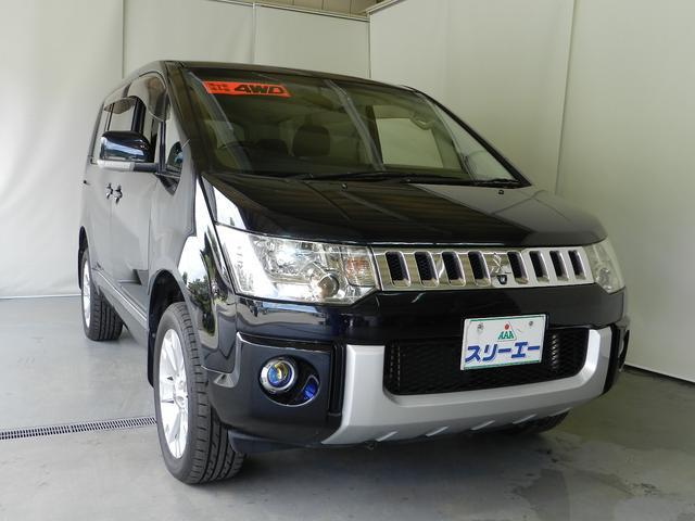三菱 G ナビパッケージ 4WD 8人乗 F・S・Bカメラ