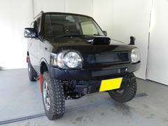 ジムニーランドベンチャー 4WD リフトアップ 社外ナビ HID