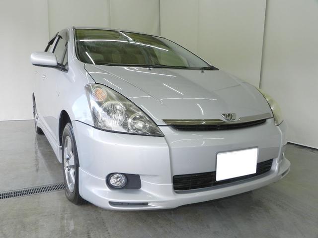 トヨタ X Sパッケージ 4WD 7人乗 HIDライト