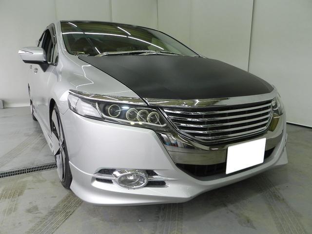 ホンダ アブソルート 社外パーツ 車高調 純正ナビ フルセグTV