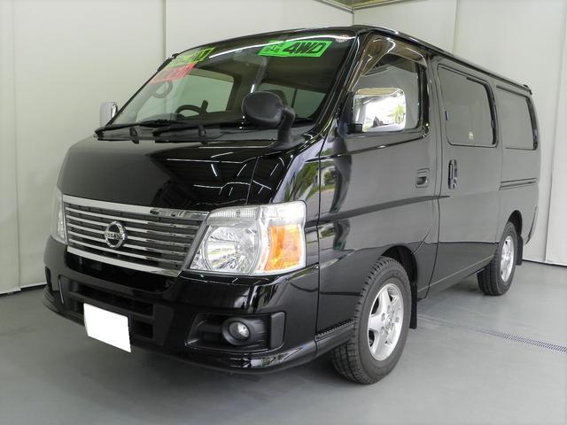 日産 ロングスーパーGXターボ 4WD 純正ナビ フルセグTV