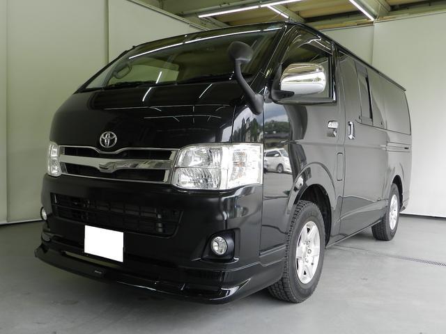 トヨタ ハイエースバン ロングスーパーGLプライムセレクション 4WD 純正ナビ
