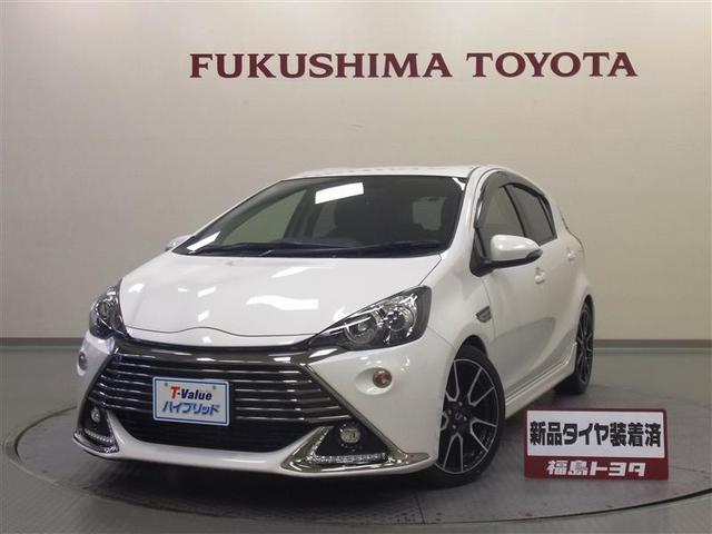 「トヨタ」「アクア」「コンパクトカー」「福島県」の中古車
