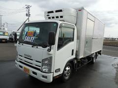 エルフトラック低温冷凍冷蔵車−30℃設定格納式パワーゲート