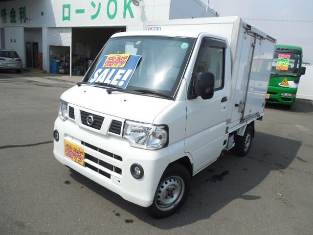 日産 冷蔵冷凍車4WD-5℃設定