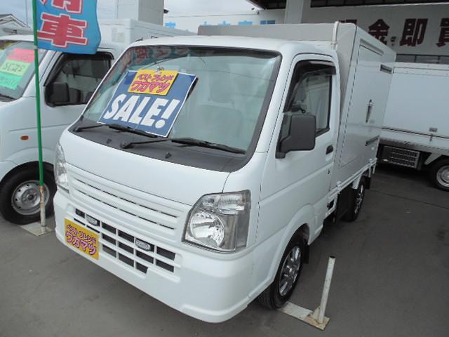 スズキ 低温冷凍車4WD-20℃設定左サイドドア