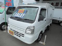 キャリイトラック低温冷凍車4WD−20℃設定左サイドドア