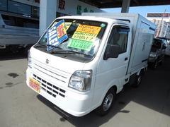 キャリイトラック冷蔵冷凍車4WD−5℃設定荷箱両側スライドドア