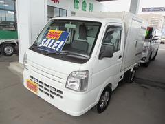 キャリイトラック低温冷凍車4WD左側サイドドア−20℃設定