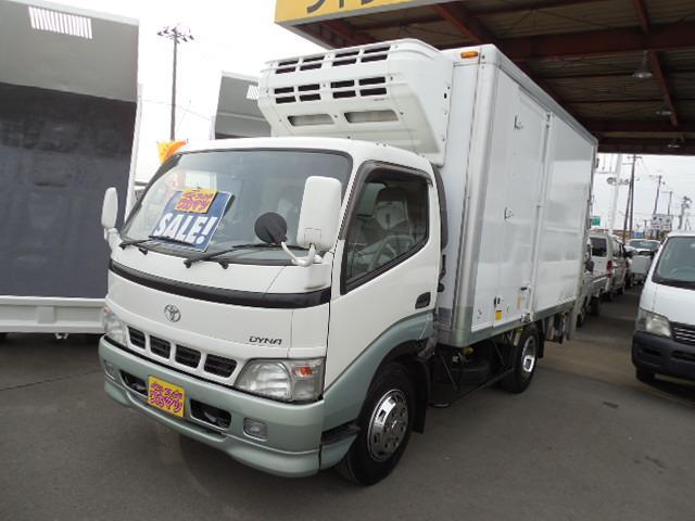 トヨタ 冷蔵冷凍車-27℃設定垂直パワーゲートスタンバイ付