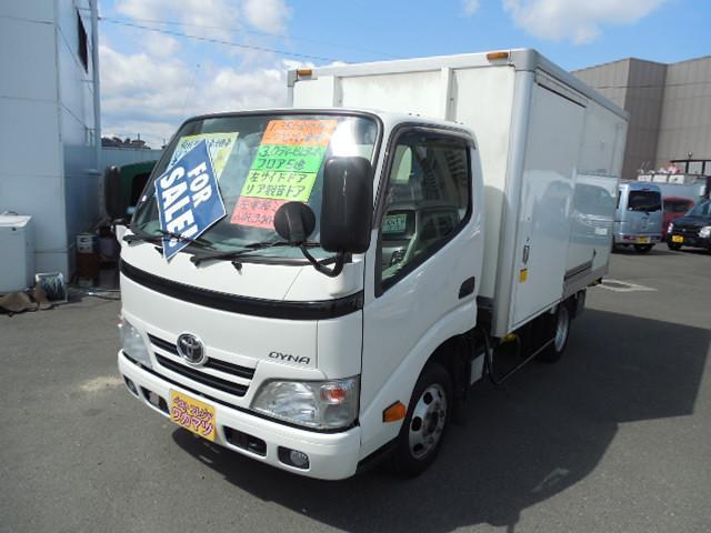 トヨタ 冷蔵冷凍車デンソー製-7℃設定左サイドドア
