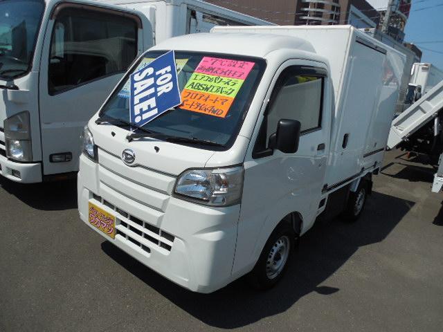 ダイハツ  冷蔵冷凍車4WDデンソー製冷凍機-7℃設定両側荷箱スライドドア