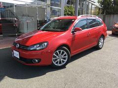 VW ゴルフヴァリアントコンフォートラインプレミアムエディション 純正アルミ ETC
