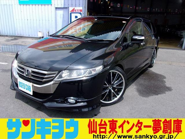 ホンダ オデッセイ MX・エアロパッケージ 純正HDDナビ ロ−...