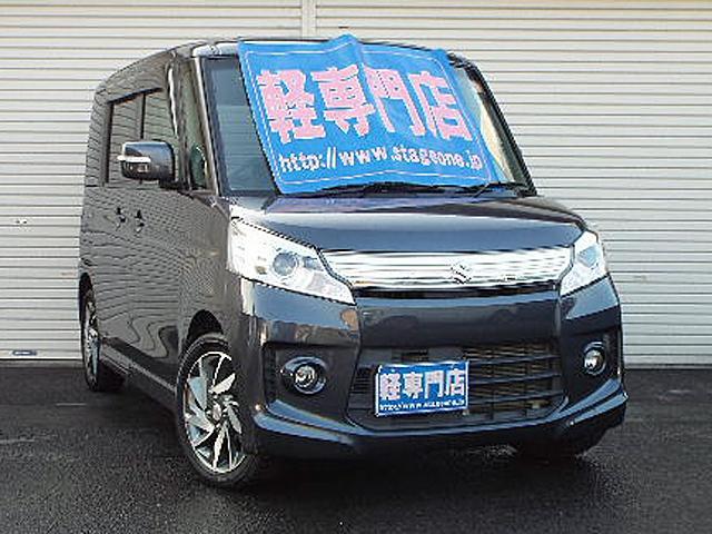 スズキ TSターボ エネチャージ HID ナビTV付 電動ドア