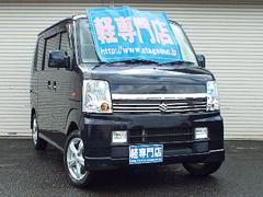 エブリイワゴンPZSPターボ 4WD ナビTV AW付  電動ドア