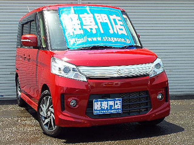 スズキ TSターボ 4WD エネチャージ HID ナビTV付電動ドア