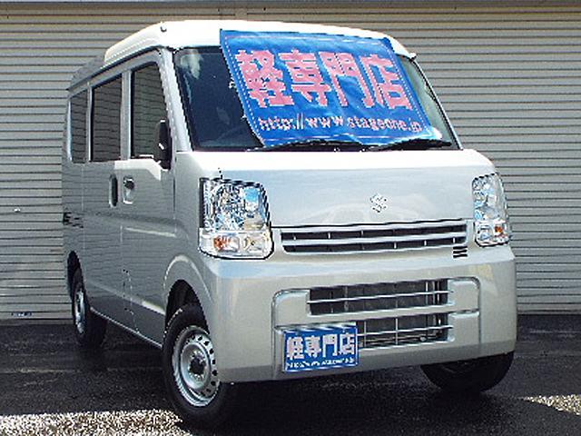 スズキ PAリミテッド4WD 届出済未使用車RBSESP付キーレス付