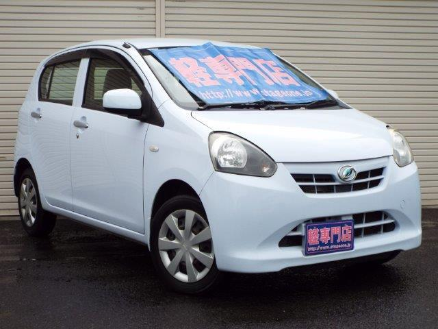 ダイハツ Xf 4WD CVT エコアイドル  キーレス CD付