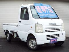 キャリイトラックKC 4WD エアコン パワステ付 CD付