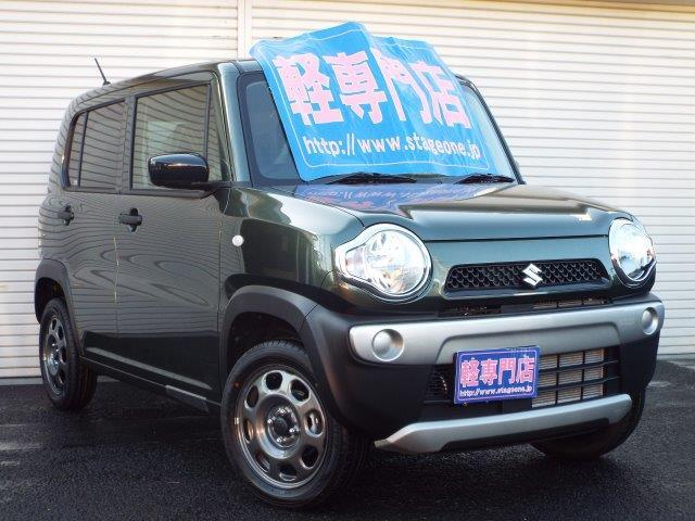 スズキ A 4WD 届出済未使用車 ESP付 シートヒーター付