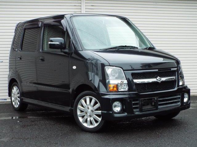 スズキ ワゴンR RR-Sリミテッド ターボ  4WD ディスチャージ CD AW付