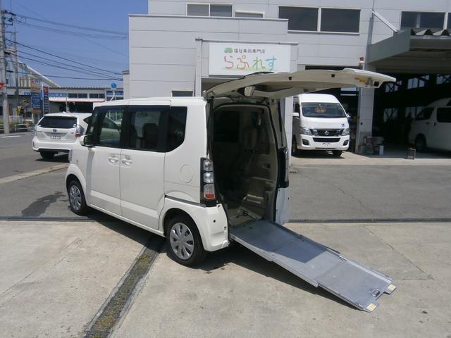 ホンダ G 車いす仕様車4WD リアスロープ 車いす固定装置