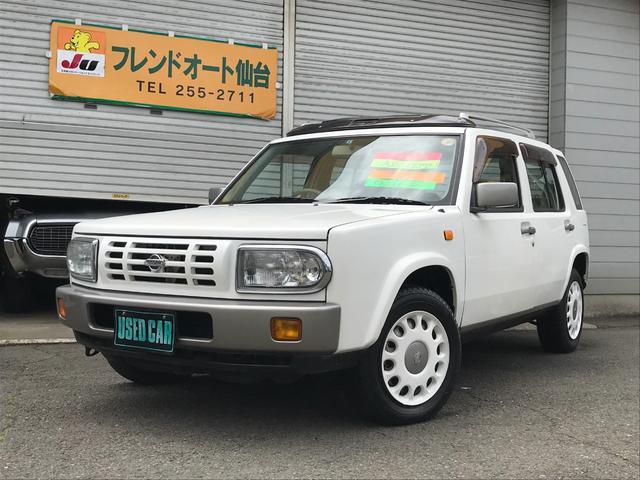 日産 タイプII 4WD サンルーフ ルーフレール 純正ホイール