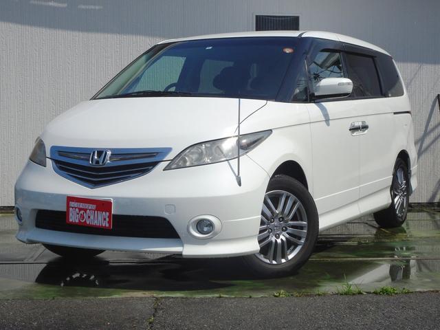 ホンダ Gエアロ HDDナビエディション4WD Pドア Sタイヤ付
