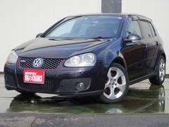 VW ゴルフGTIターボ ナビ黒革シート サンルーフ