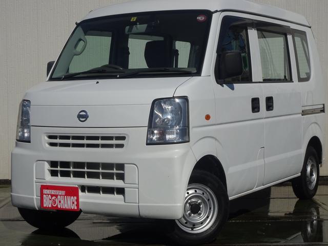 日産 NV100クリッパーバン DX 4WD パワステ 走行無制限1年保証