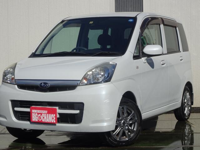 スバル ステラ L ブラックインテリアセレクション 4WD CD 1年保証