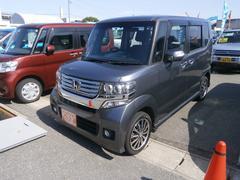 N BOXカスタムG・ターボパッケージ ワンオーナー 純正ナビ 地デジ 4WD