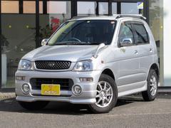 テリオスキッドCLカスタム 社外CD 4WD ルーフレール キーレス