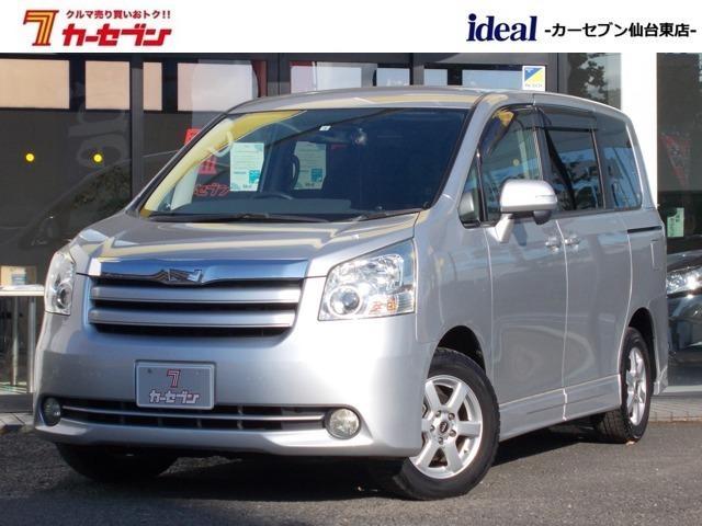トヨタ ノア X Lセレクション 社外フルセグナビ HID フリップダウンモニター