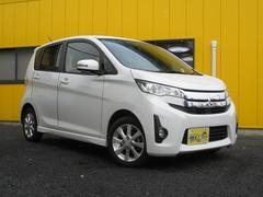 eKカスタム4WD G 純正ナビ フルセグTV アイドリングストップ