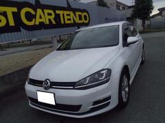 VW ゴルフTSIコンフォートラインブルーモーションテクノロジー純正ナビ