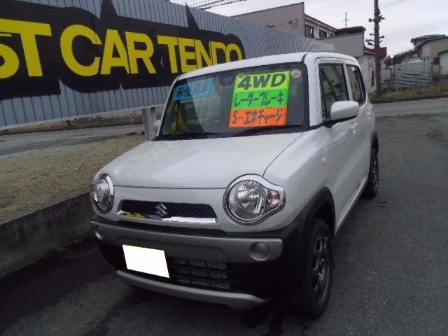 スズキ G 4WD届出済未使用車 S-エネチャージ シートヒーター