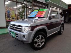 パジェロミニエクシード 4WD インタ−ク−ラ−付タ−ボ  CD