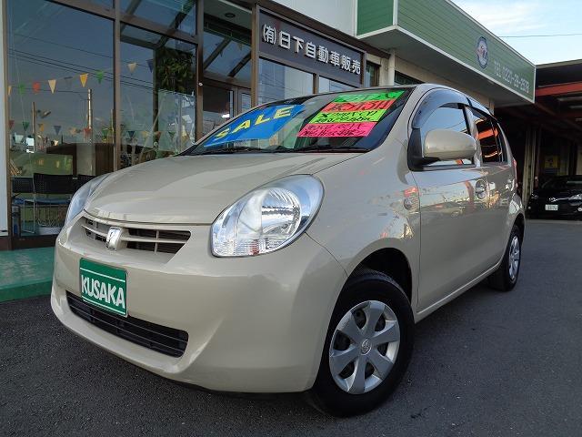 トヨタ パッソ X クツロギ  純正CD  スマートキ- ABS