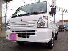 キャリイトラックKC エアコン パワステ 5MT 4WD ディーラー保証