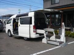 ハイエースバン福祉車両 ウェルキャブ 車椅子移動車 4WD