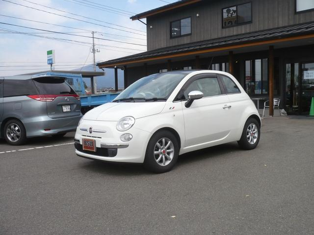 「フィアット」「500(チンクエチェント)」「コンパクトカー」「福島県」の中古車