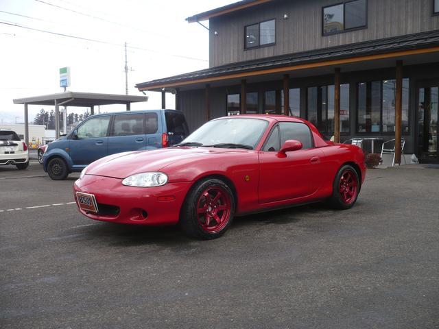 「マツダ」「ロードスター」「オープンカー」「福島県」の中古車