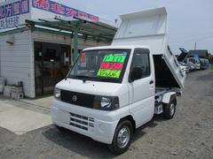 クリッパートラック4WD PTO式ダンプ