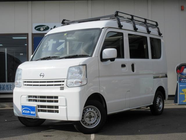 日産 DX GLエマージェンシーブレーキパッケージ 5AGS・ル-フキャリア・4WD・キ-レス・純正CD・電動格納ミラ-