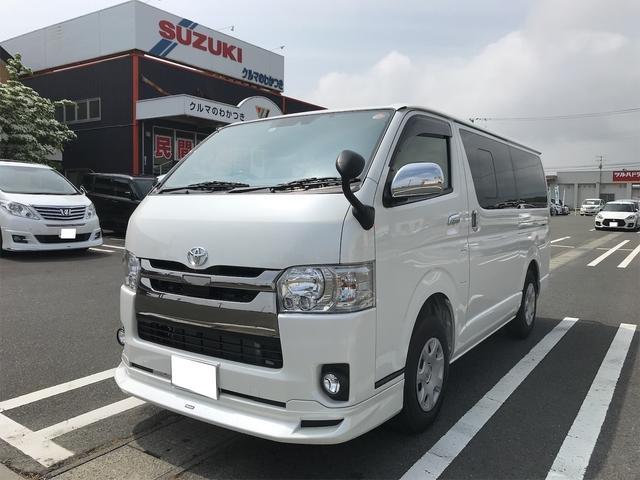 トヨタ スーパーGL ダークプライムII SDナビ ETC エアロ付