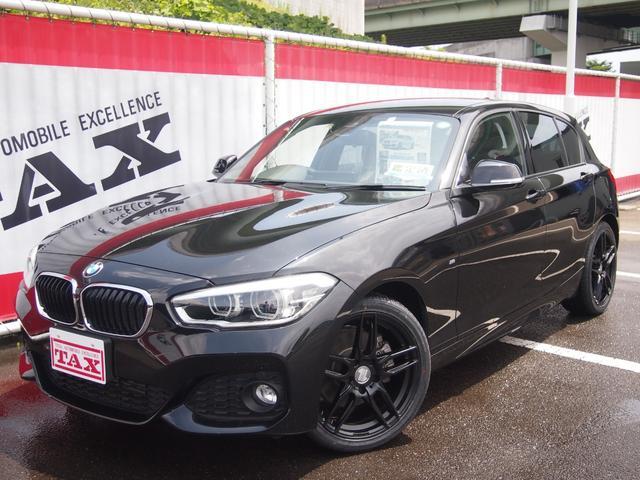 BMW 118i Mスポーツ 純正HDDナビ Bカメラ バックソナー プライバシーガラス ステアリングスイッチ LEDヘッドライト 純正17インチアルミホイール ETC 整備記録簿有 横滑り防止 ターボ車 クルーズコントロール