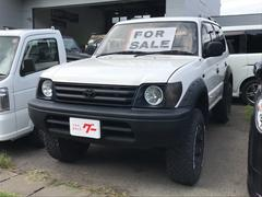 ランドクルーザープラドナビ 4WD AW CD ETC