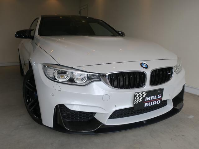 BMW M4クーペ 禁煙車 Mパフォーマンスパーツ 437M鍛造AW